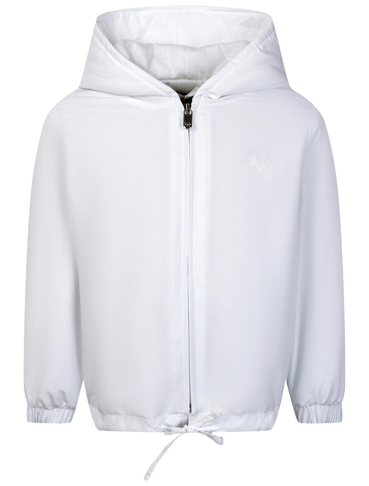 Куртка Il Gufo белого цвета