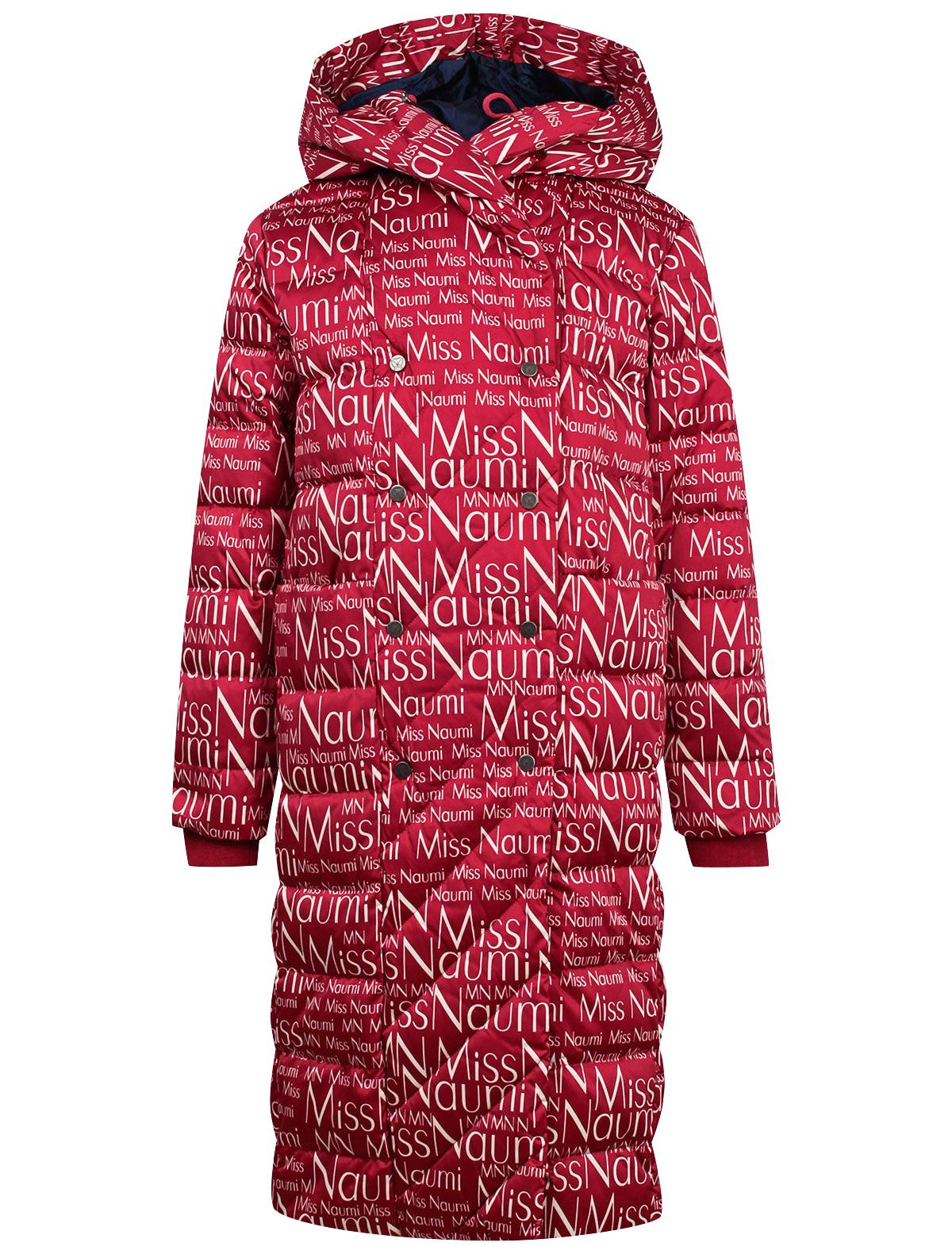 Купить 2143867, Пальто NAUMI, красный, Женский, 1121309980134