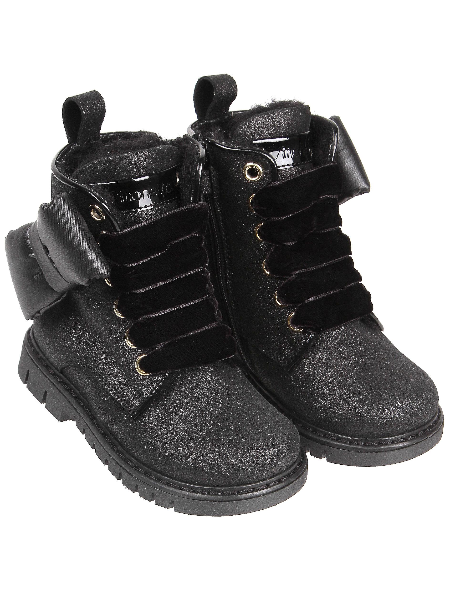 Купить 2141172, Ботинки Simonetta, черный, Женский, 2031109980694
