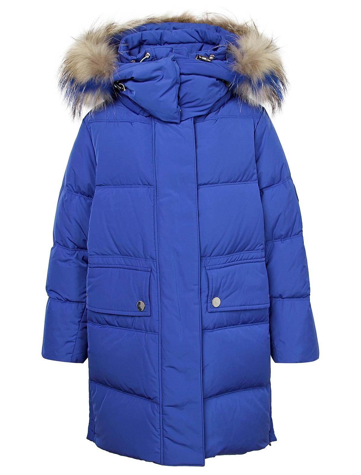Купить 2121542, Пальто Jums Kids, синий, Женский, 1121409980133