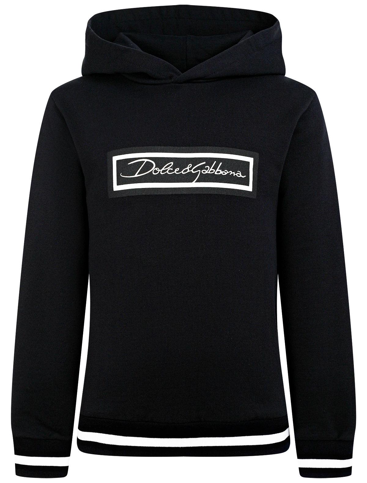 2296215, Худи Dolce & Gabbana, синий, 0094529170894  - купить со скидкой