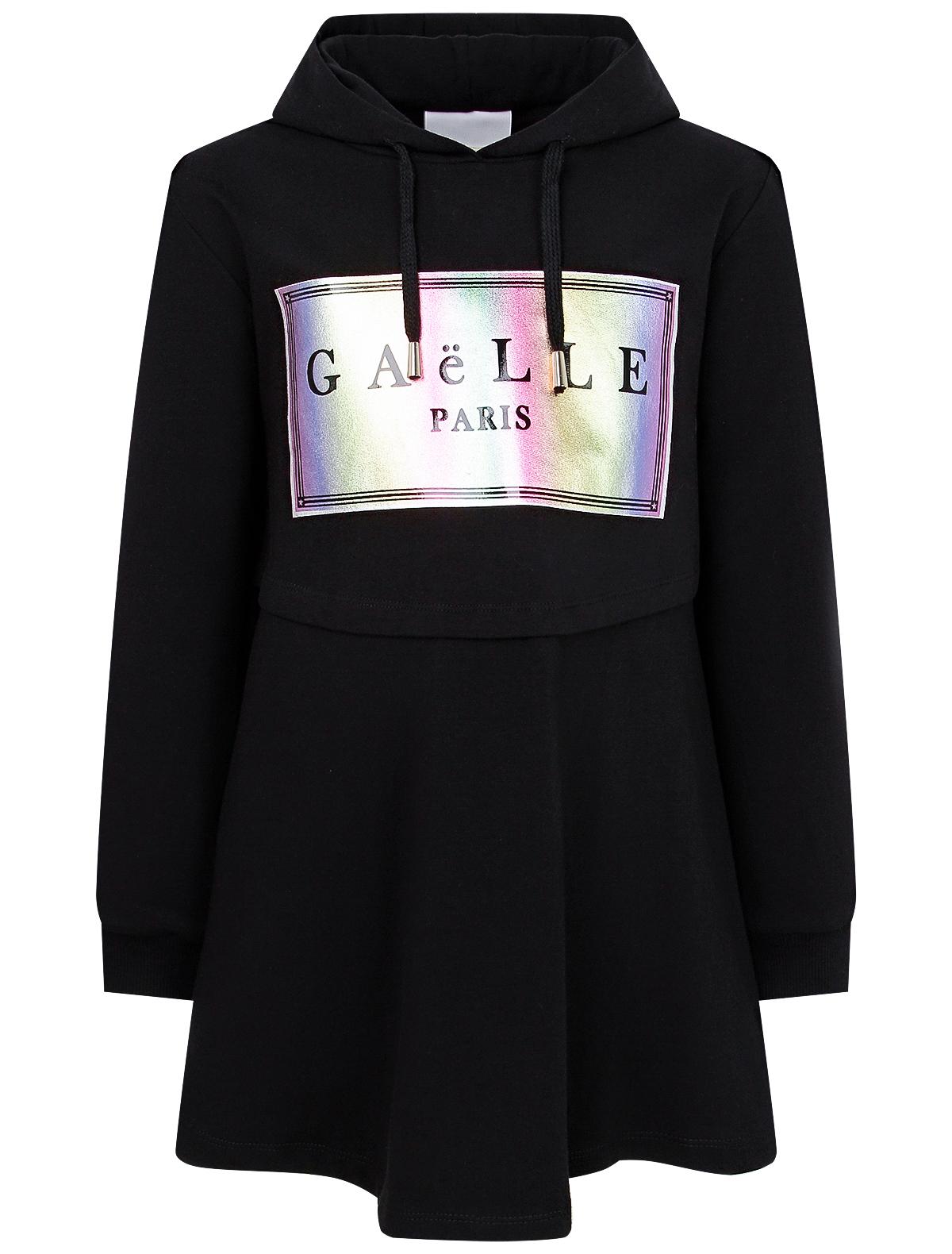 Купить 2202827, Платье GAELLE, черный, Женский, 1054609071434