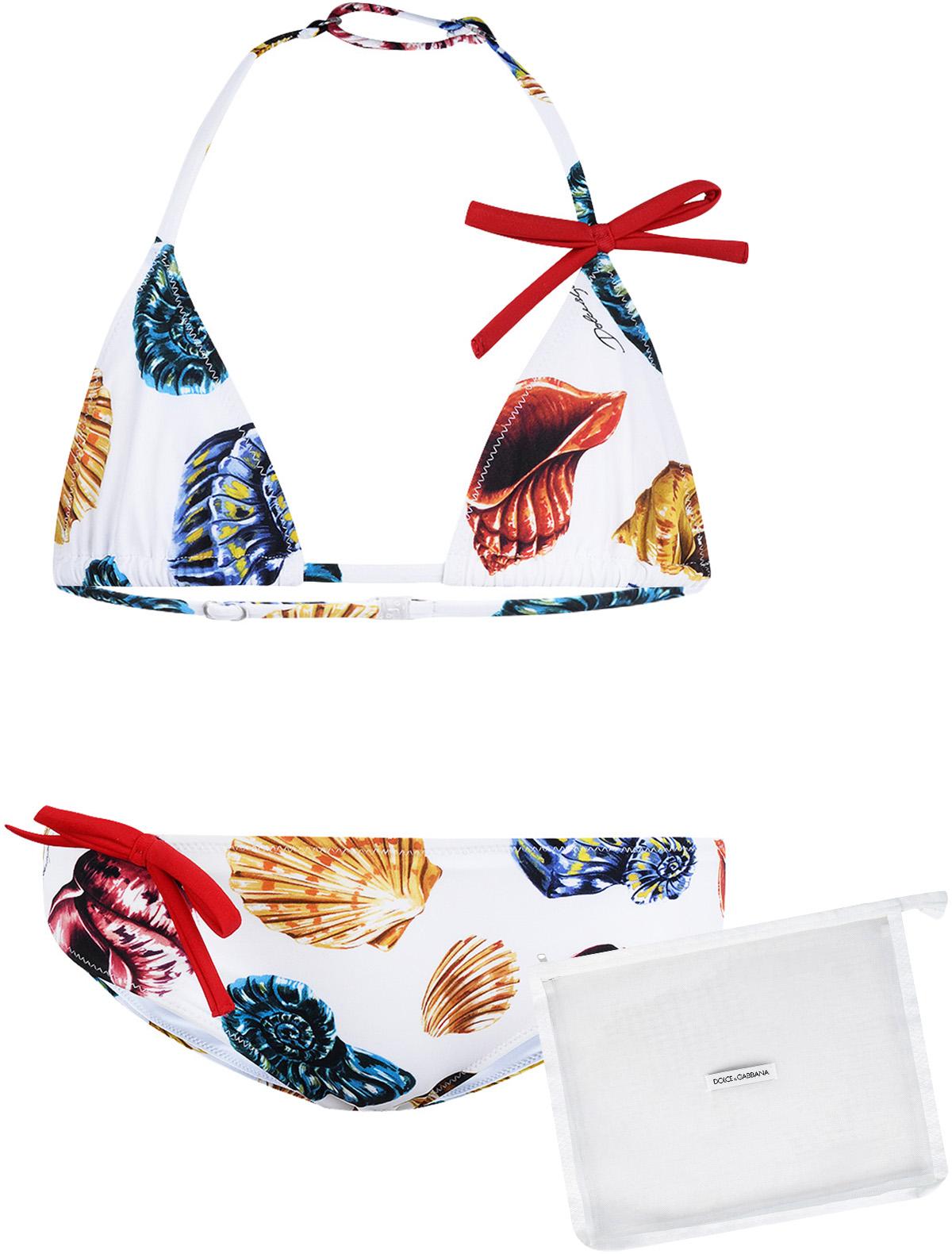 Купить 1862452, Купальник Dolce & Gabbana, белый, Женский, 0881209870300