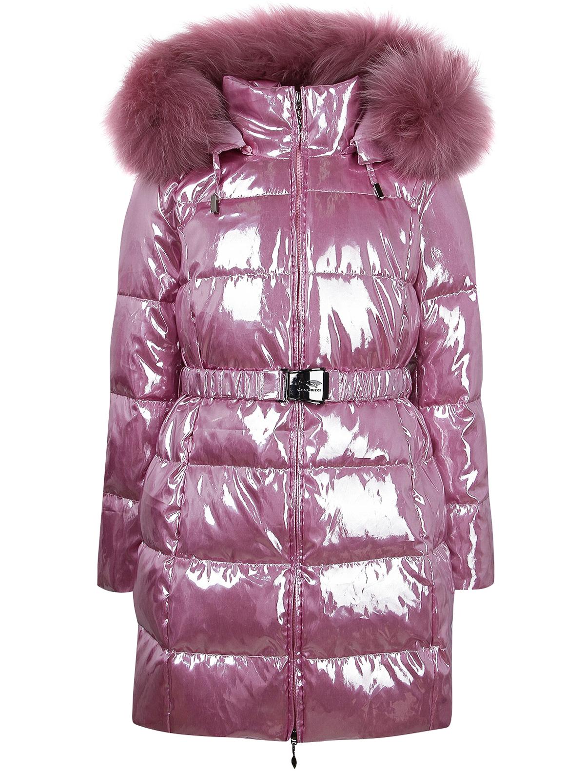 Купить 2142992, Пальто Manudieci, розовый, Женский, 1122609980275