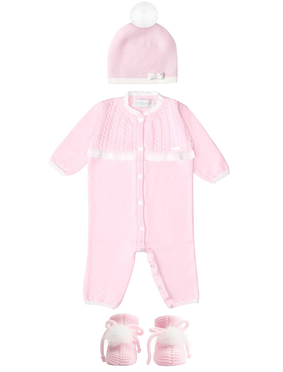 Купить 2255420, Комплект из 3 шт. MIACOMPANY, розовый, Женский, 3034500080030