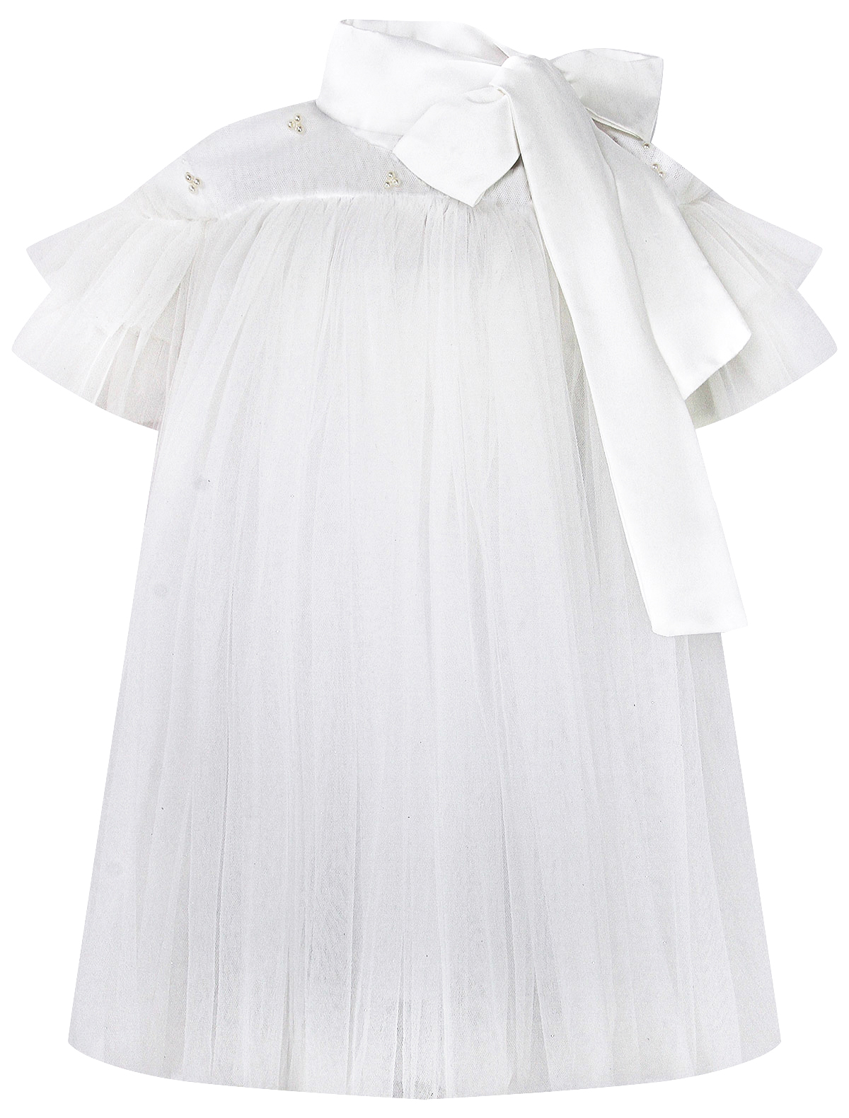 Платье ENN`STORE 2299799 белого цвета