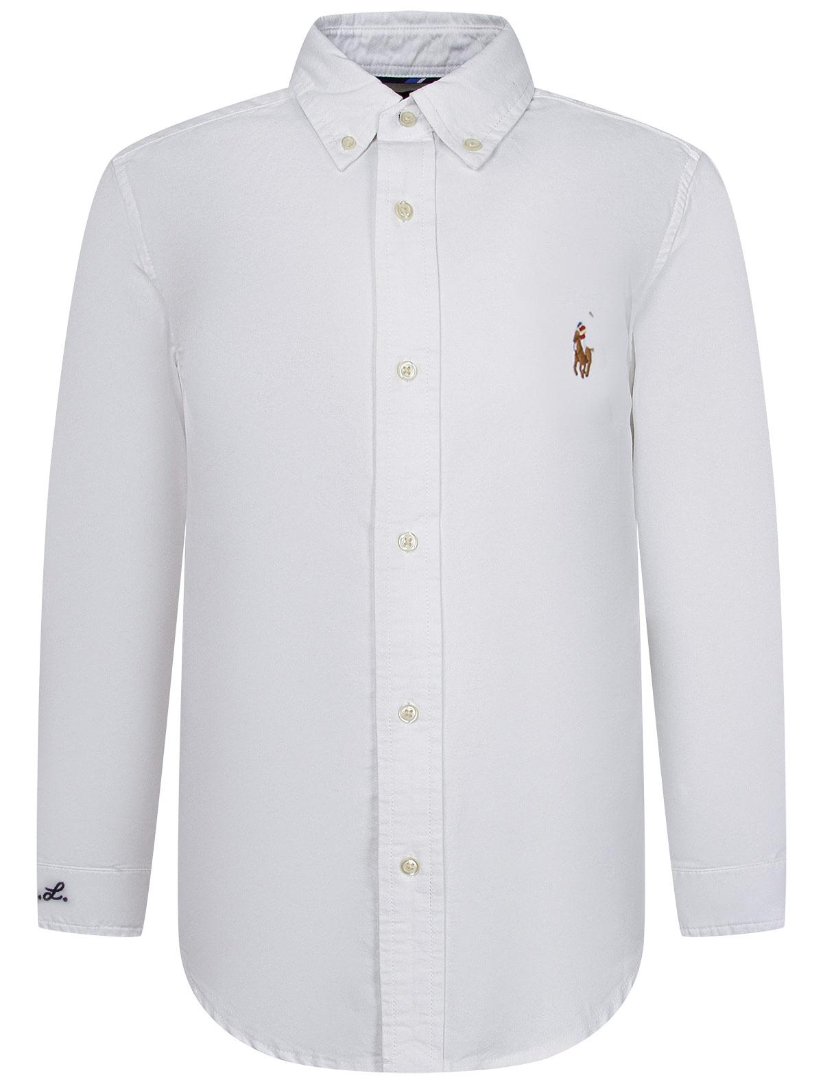 Купить 2251818, Рубашка Ralph Lauren, белый, Мужской, 1014519086096