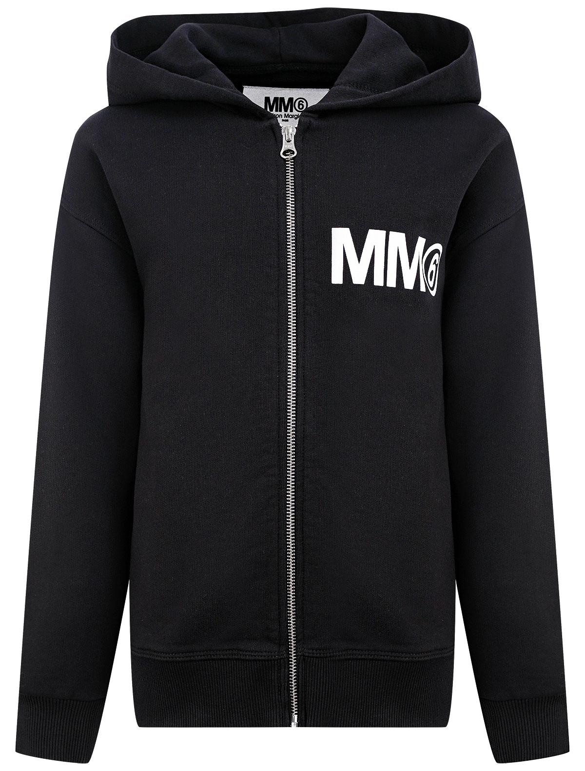 2345733, Толстовка MM6 Maison Margiela, черный, 0074529180659  - купить со скидкой