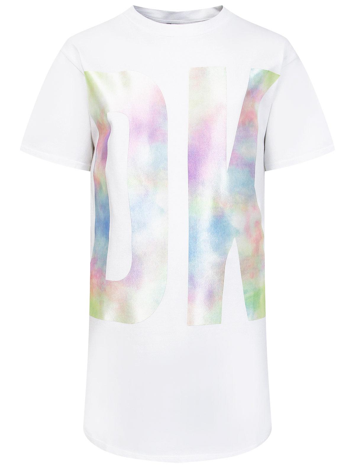 Купить 2309951, Платье DKNY, белый, Женский, 1054609177884