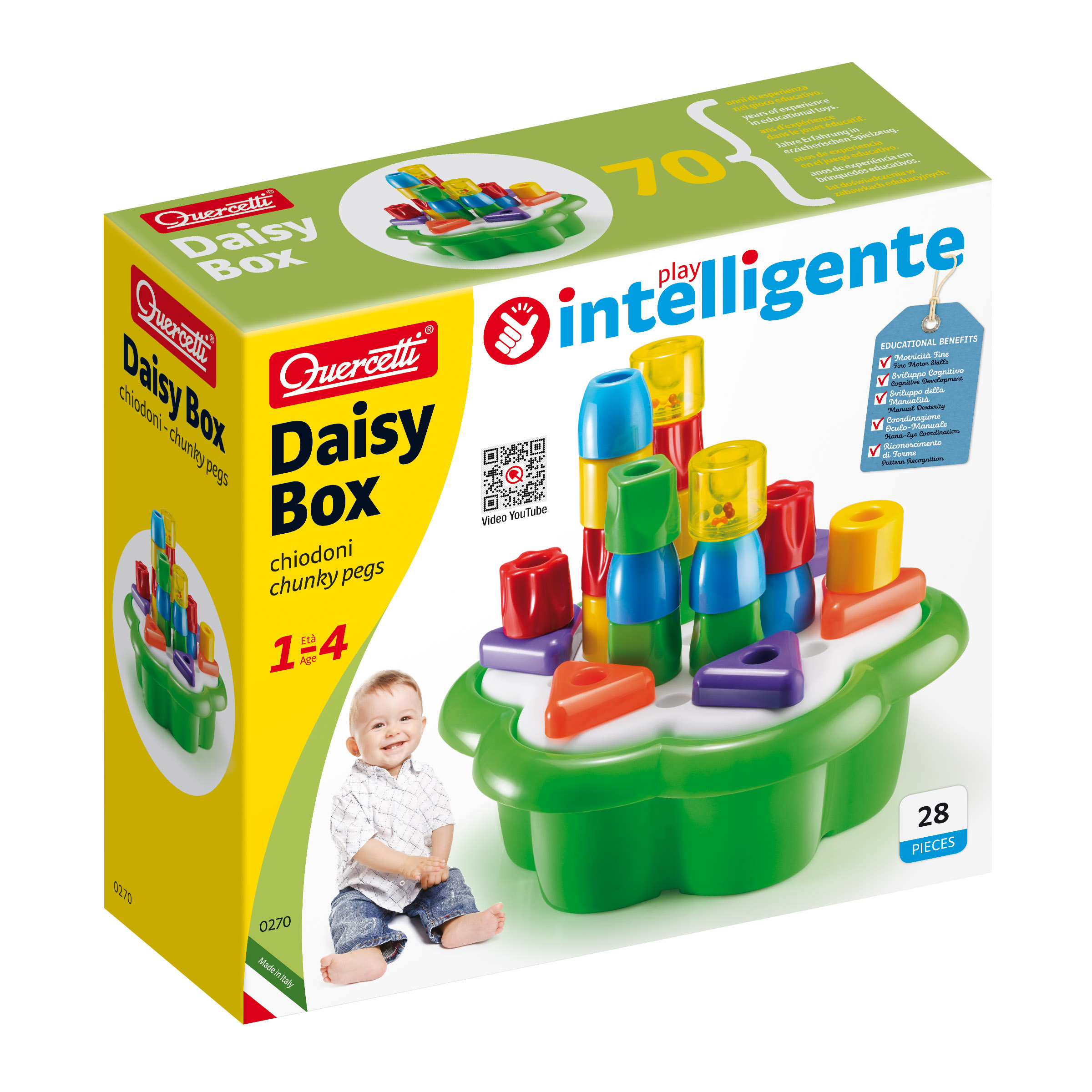 Купить 2146202, Игрушка QUERCETTI, разноцветный, 7132529982284