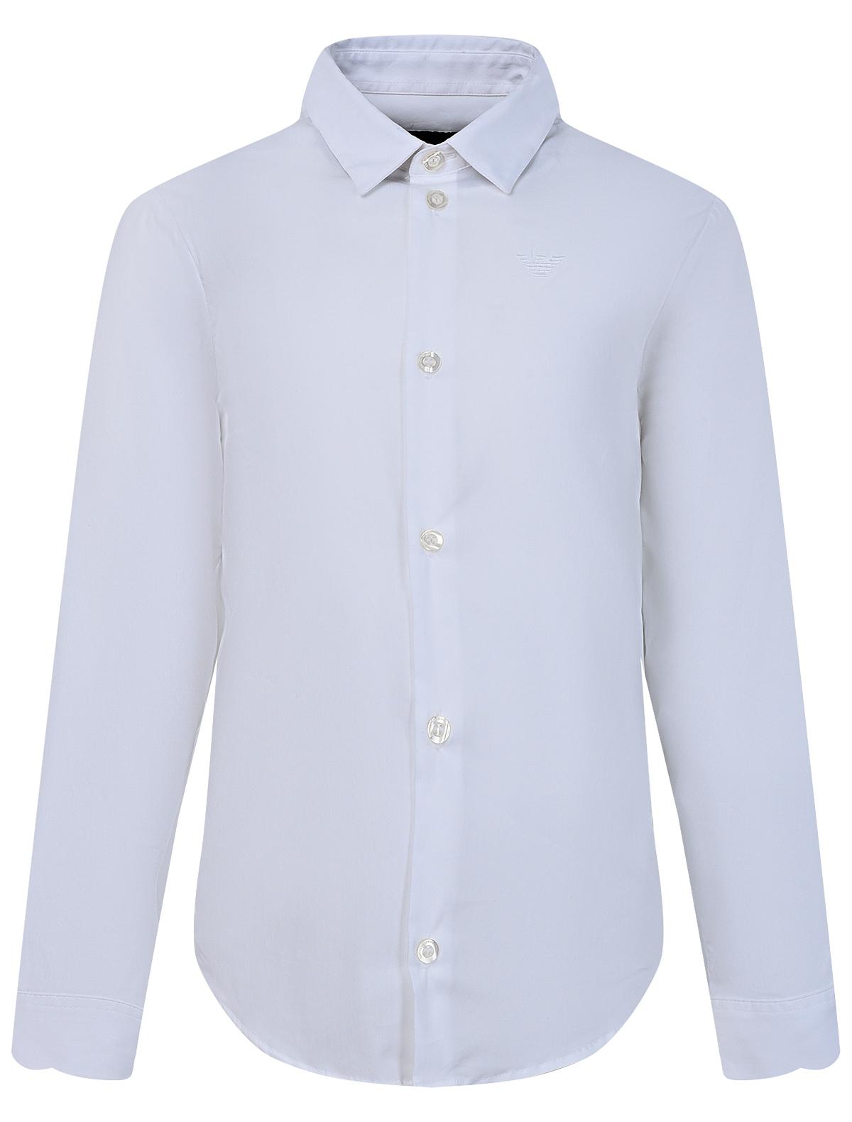 Купить 2048735, Рубашка Armani Junior, белый, Мужской, 1011219980389