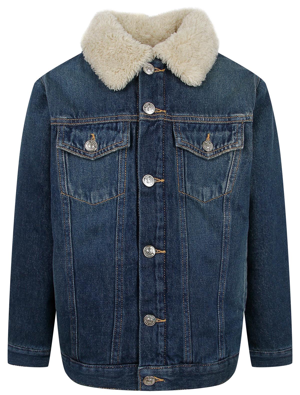 Купить 2345581, Куртка MM6 Maison Margiela, синий, 1074529181426
