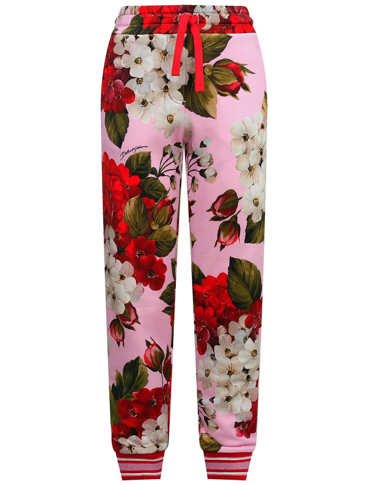 Купить 2222595, Брюки спортивные Dolce & Gabbana, розовый, Женский, 4244509071024