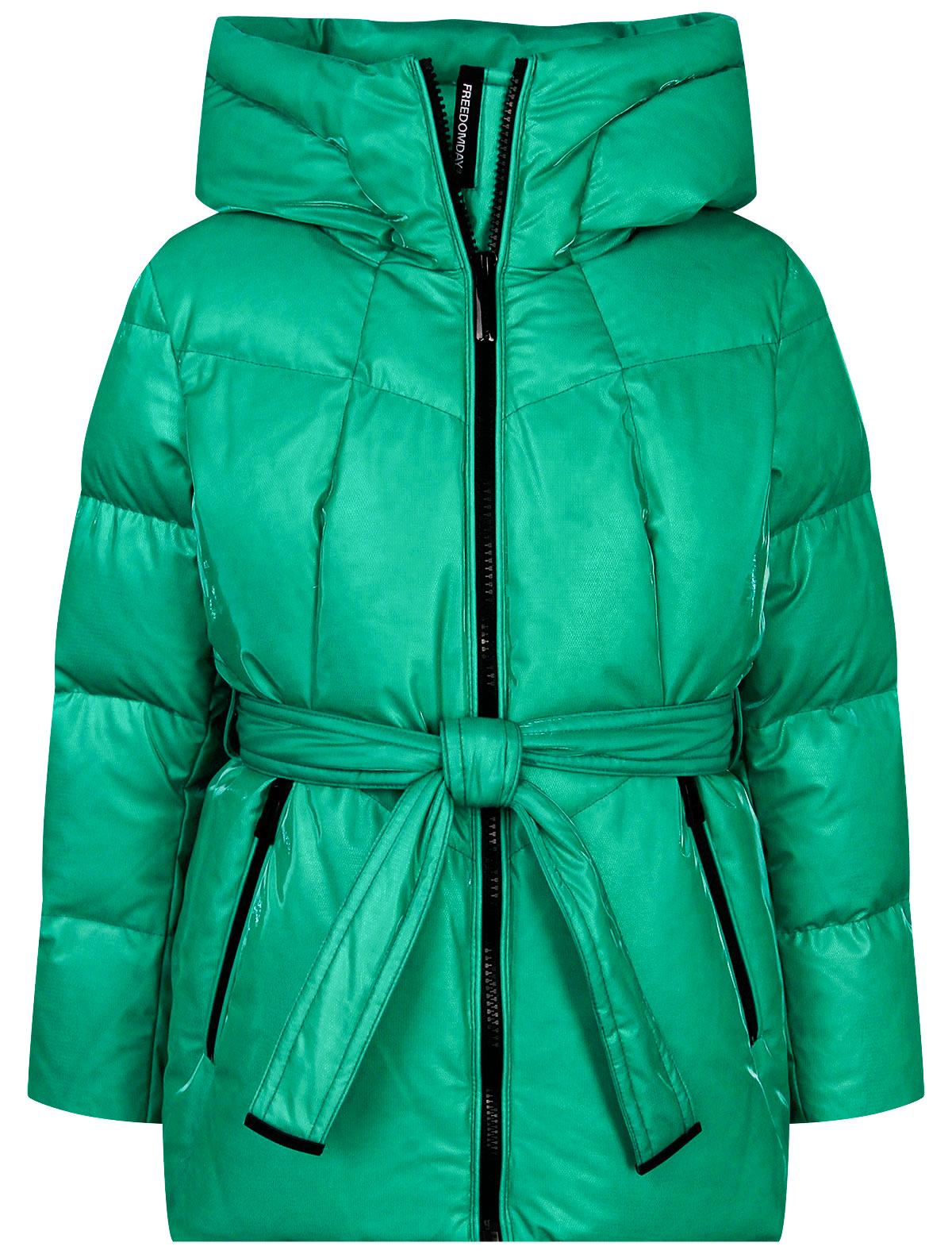 2342606, Куртка FREEDOMDAY, зеленый, Женский, 1074509181163  - купить со скидкой