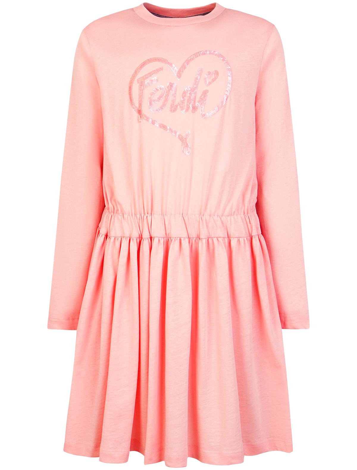 Купить 1870709, Платье Fendi, розовый, Женский, 1052609880025