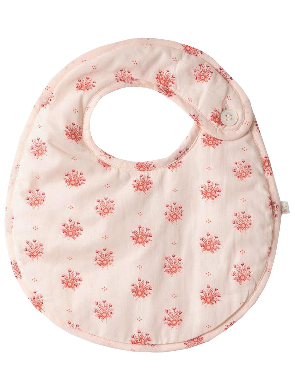 Слюнявчик Bonpoint 2306980 розового цвета