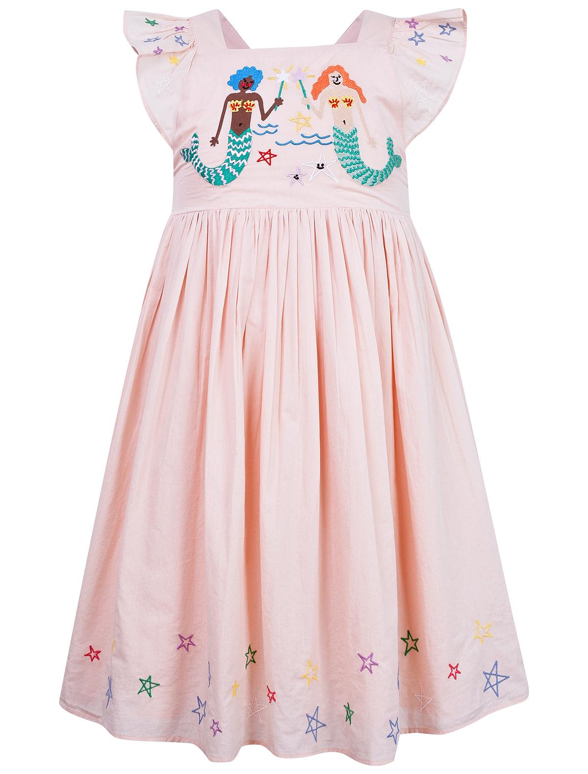 Купить 2156525, Платье Stella McCartney, розовый, Женский, 1052609070402