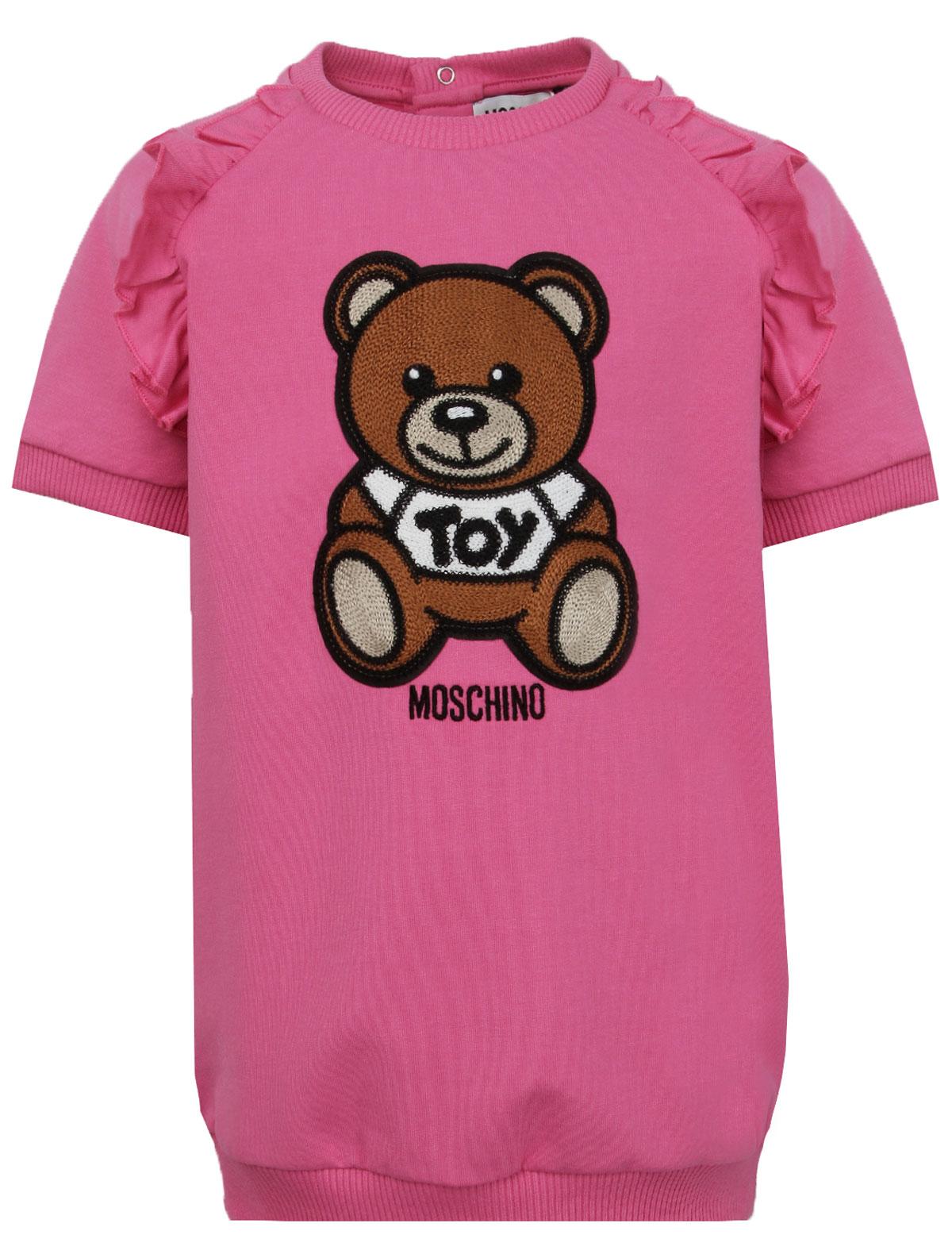 2279781, Платье Moschino, розовый, Женский, 1054509174211  - купить со скидкой