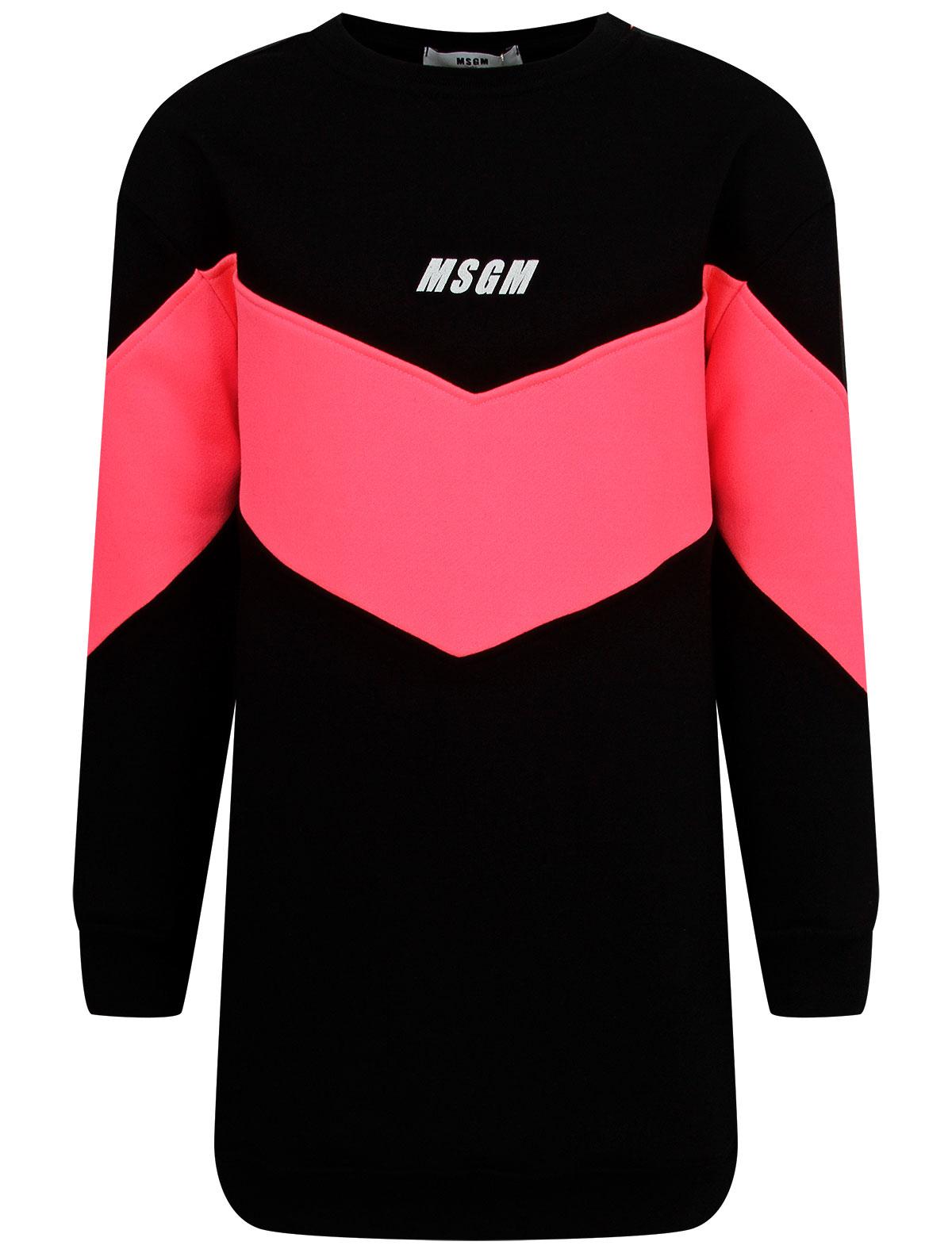 Купить 2243976, Платье MSGM, черный, Женский, 1054609080863