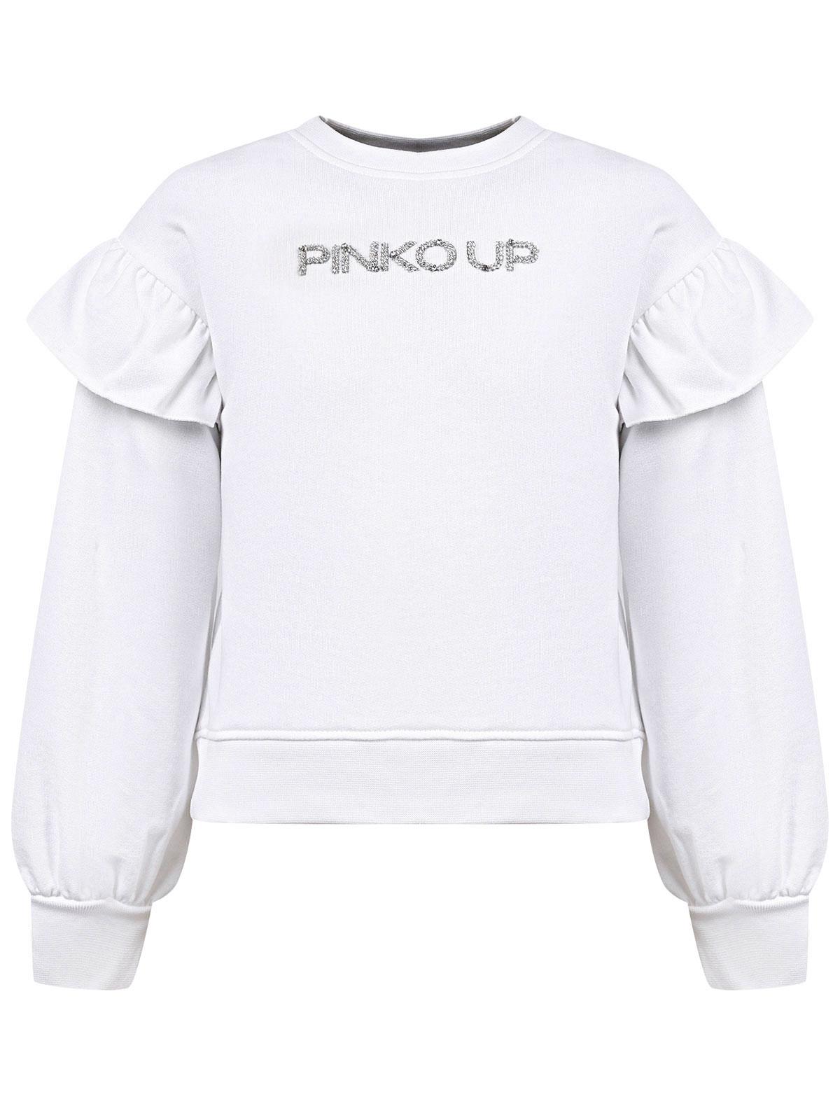 Купить 2276479, Свитшот Pinko Up, белый, Женский, 0084509171249