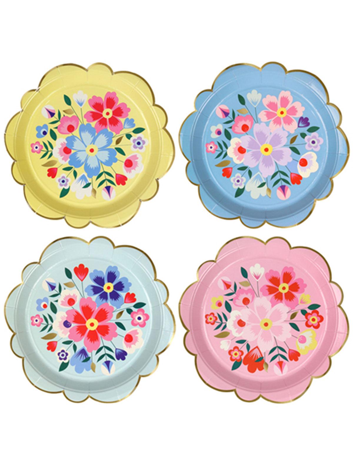 Купить 2328707, Набор посуды Meri Meri, синий, 2294520170505