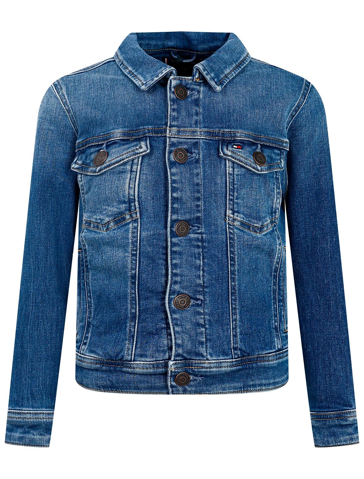 Купить 2299214, Куртка TOMMY HILFIGER, синий, 1074529171380