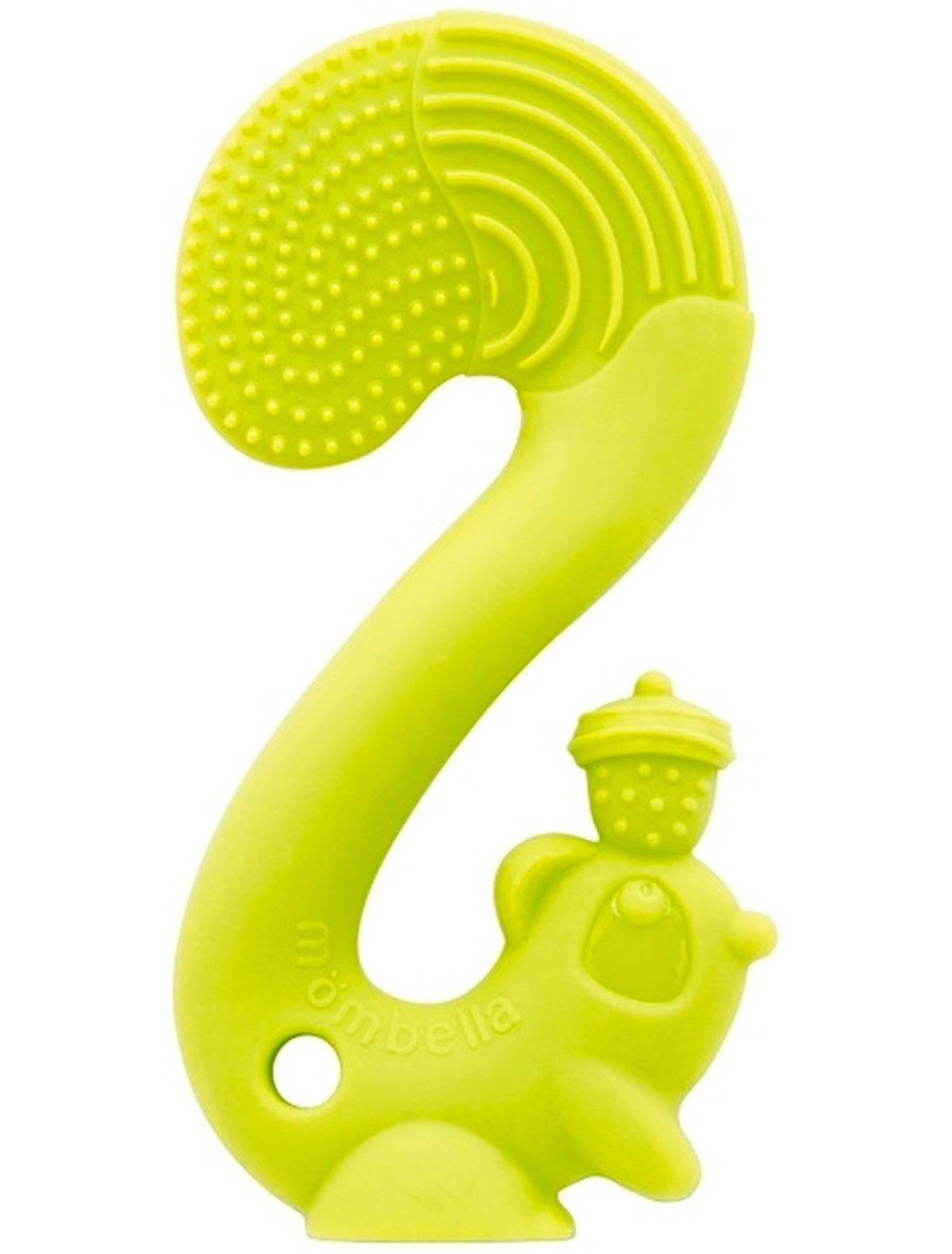 Купить 2214190, Прорезыватель для зубов Mombella, зеленый, 5644520070027