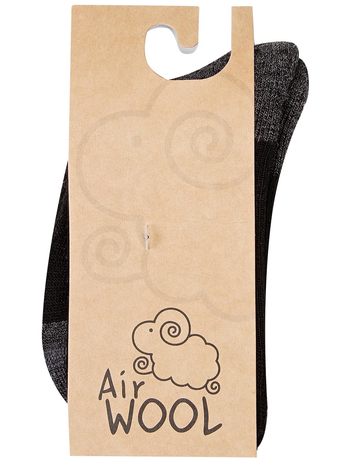 Купить 2251230, Носки Air wool, черный, Мужской, 1531119980086