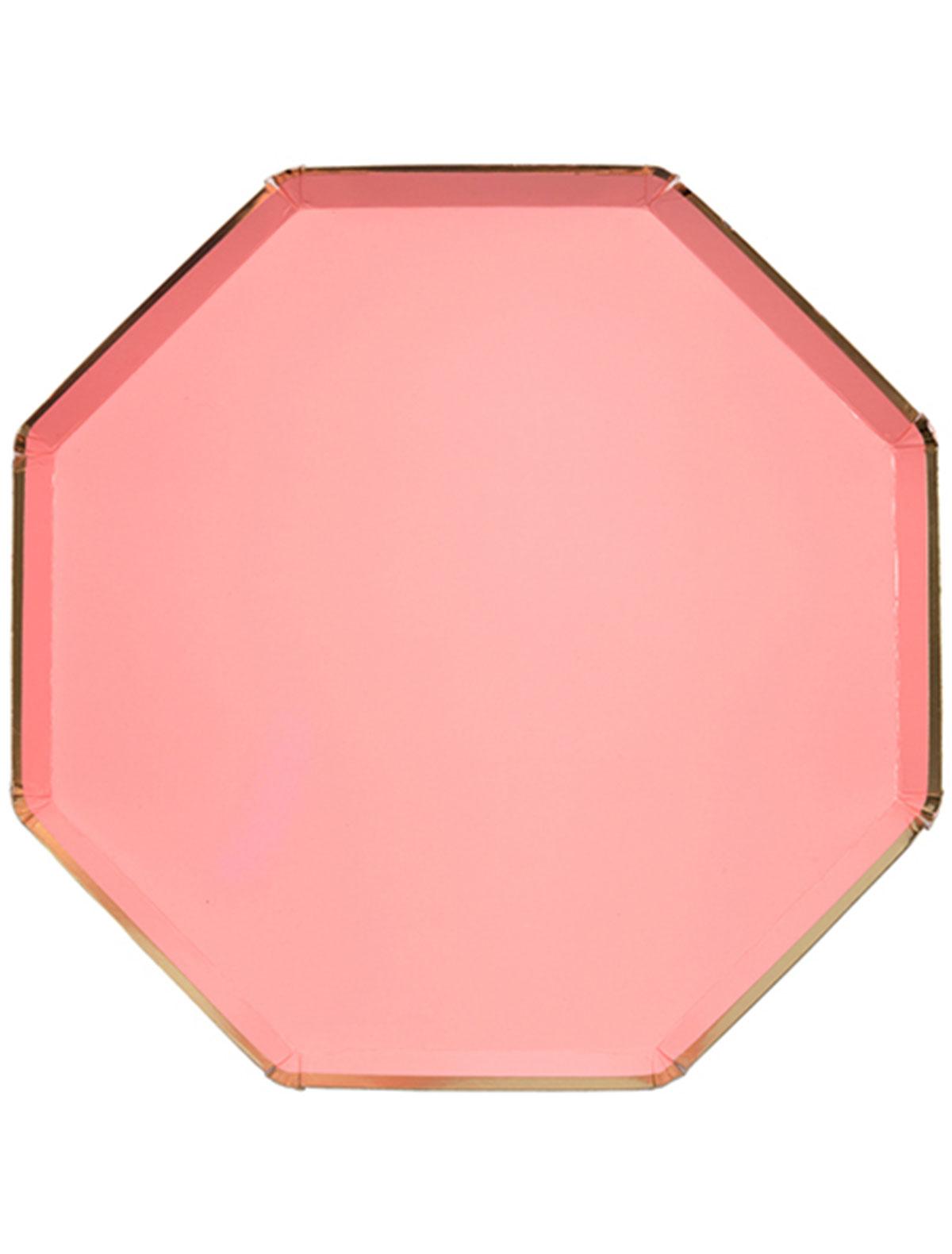 Набор посуды Meri Meri 2259951 розового цвета