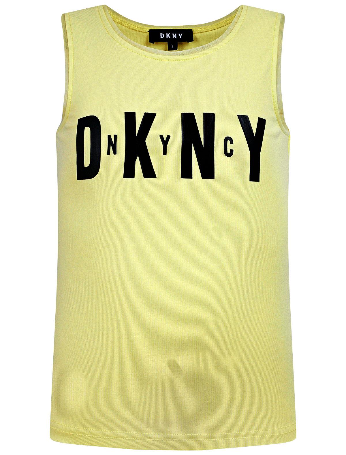 Купить 2310173, Топ DKNY, желтый, Женский, 0514509171401