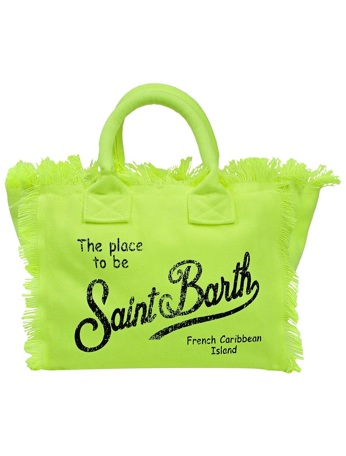 Сумка пляжная MC2 Saint Barth 2311951 зеленого цвета