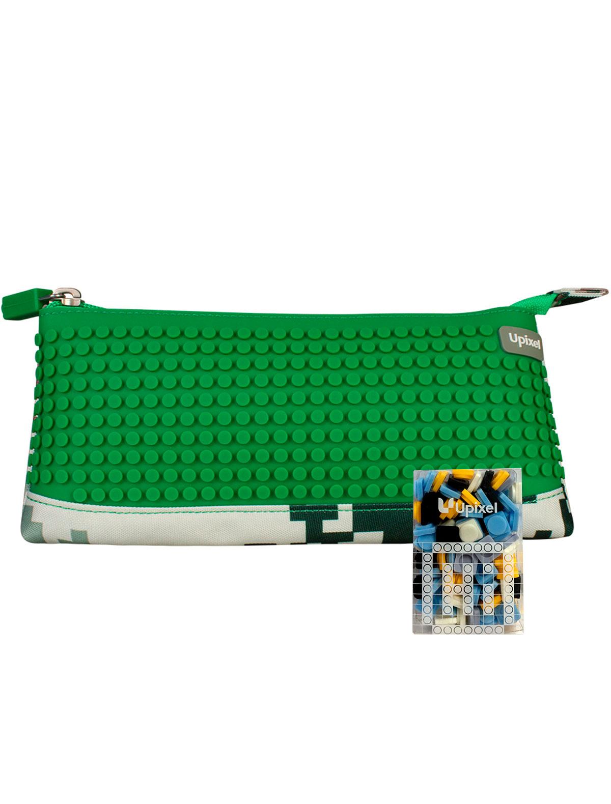 Купить 2220728, Пенал Upixel, зеленый, 1684528080066