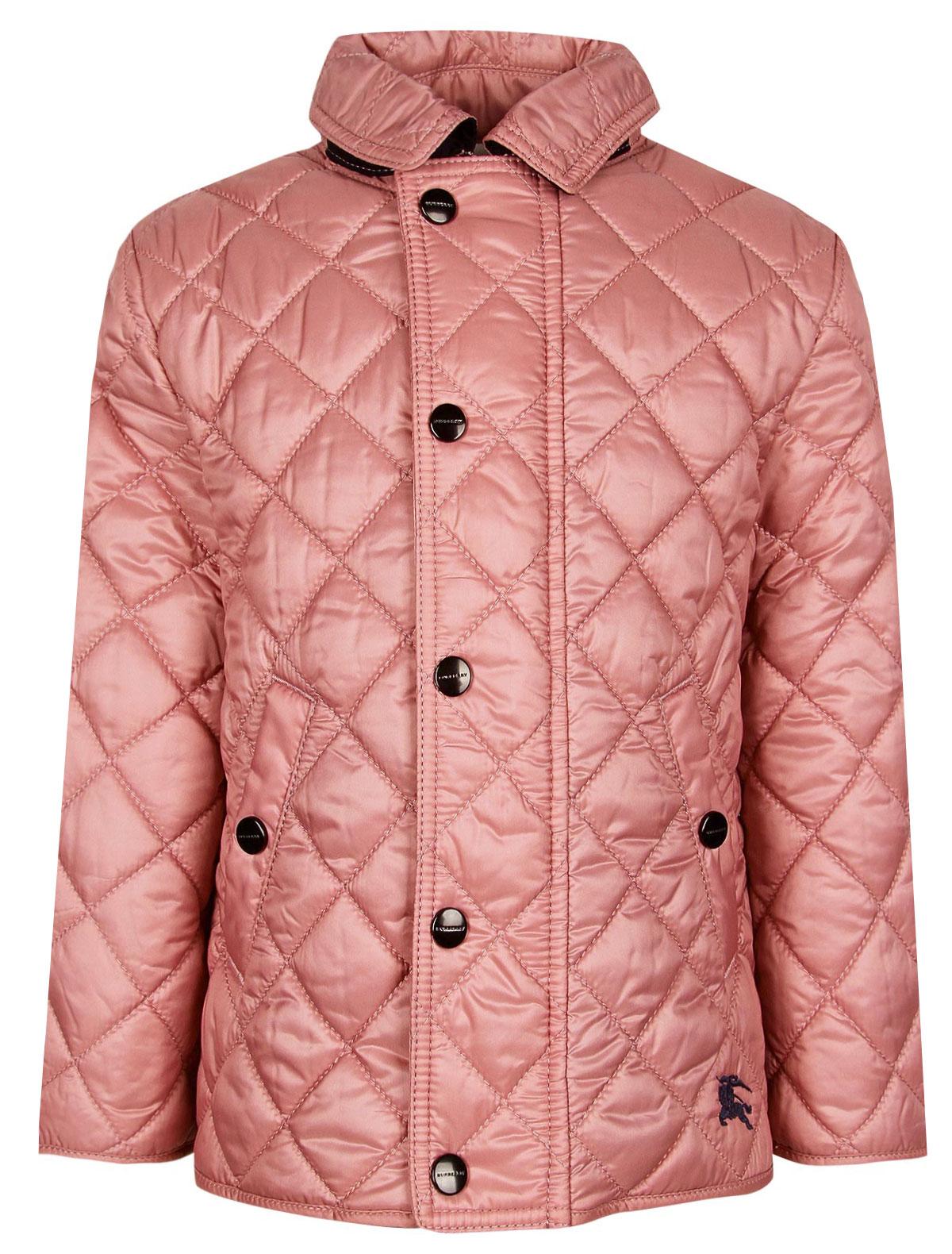 Купить 1956031, Куртка Burberry, розовый, Женский, 1072609971202
