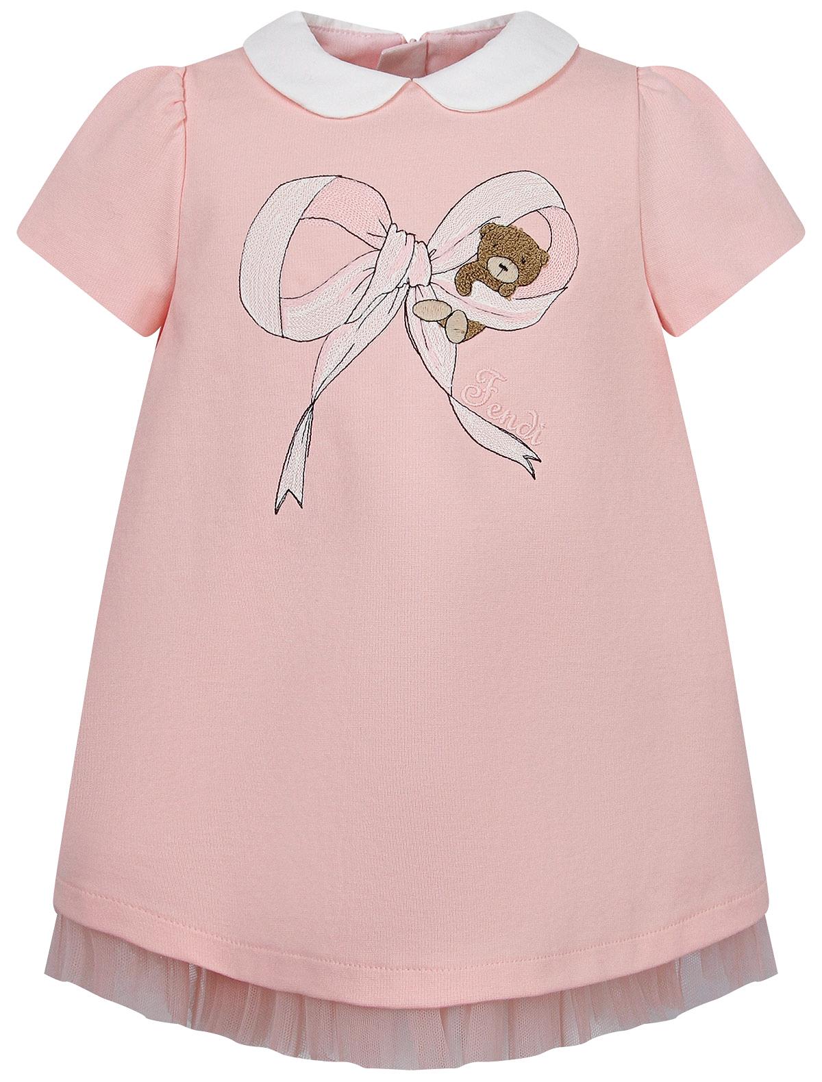 Купить 2266821, Платье Fendi, розовый, Женский, 1054609081914