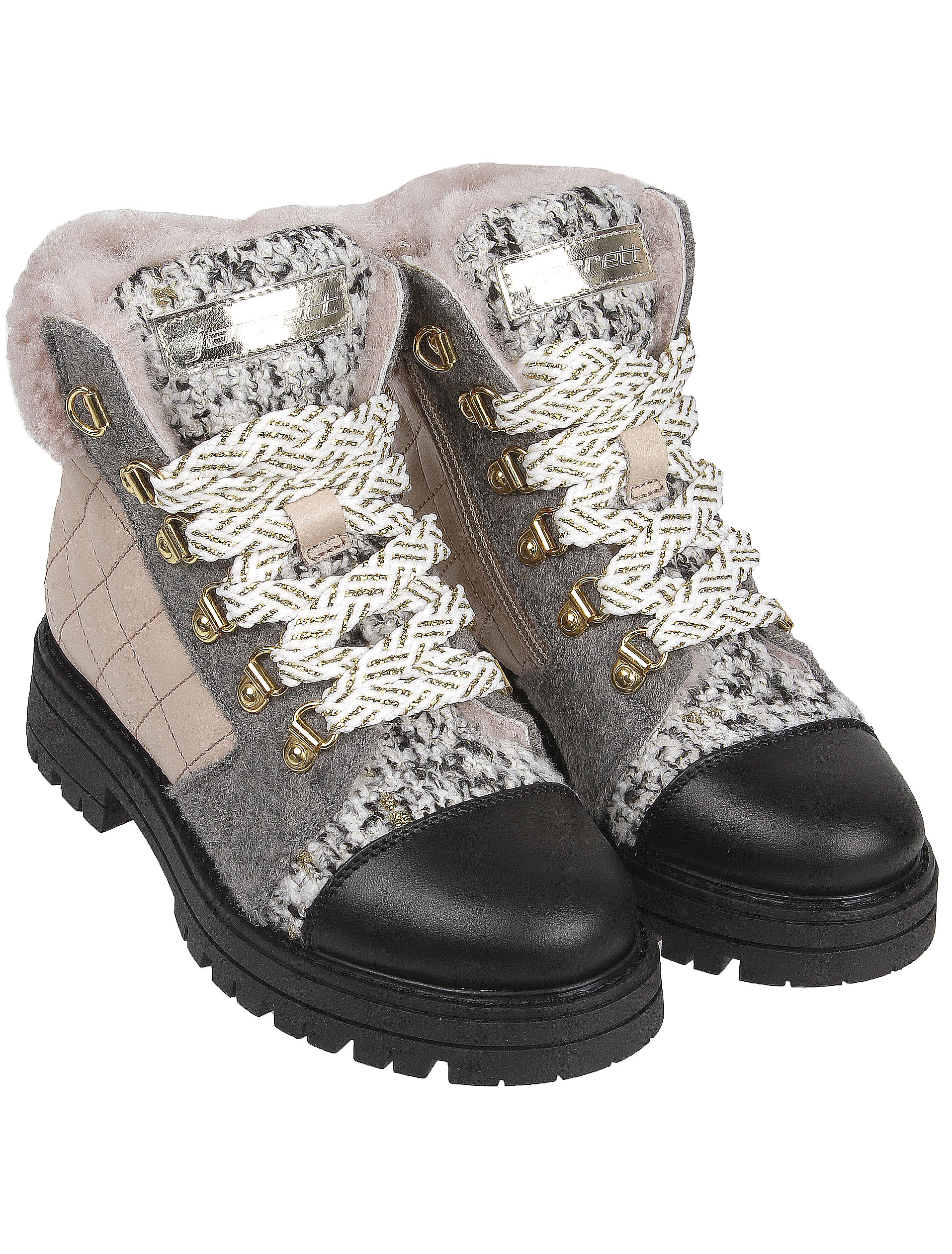 Купить 2141436, Ботинки JARRETT, серый, Женский, 2032609980108
