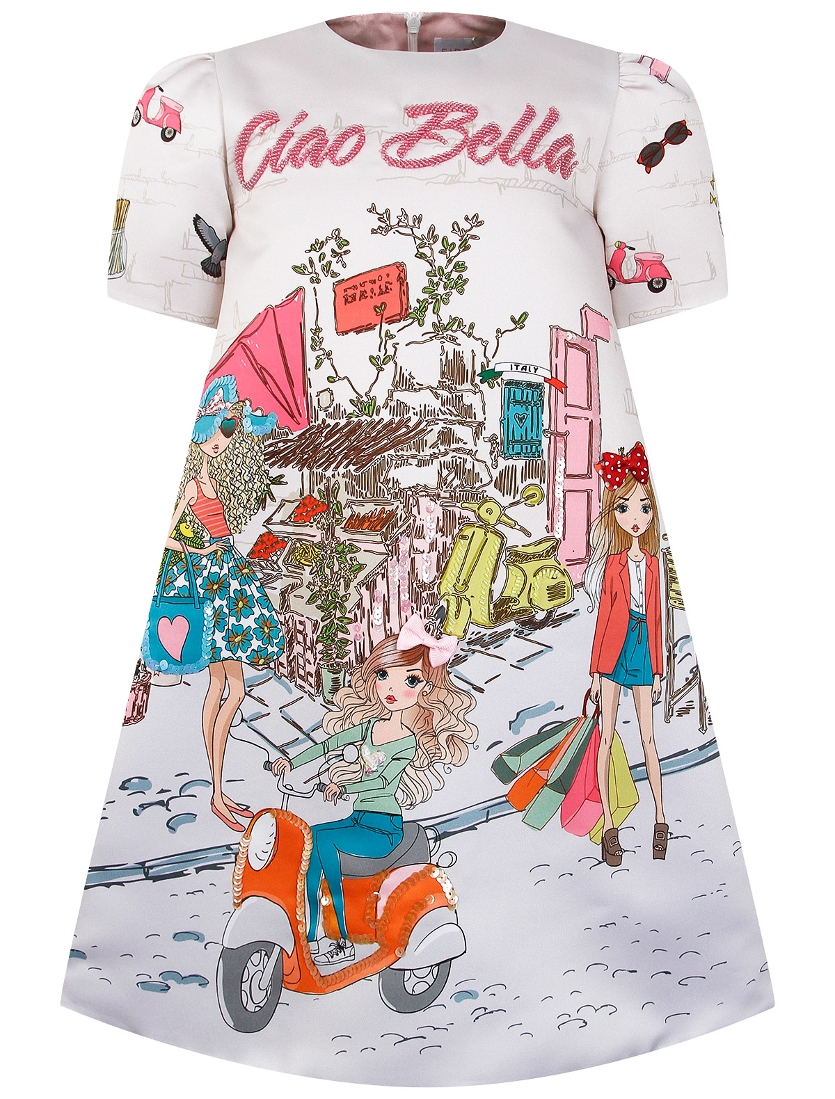 Купить 2291058, Платье EIRENE, разноцветный, Женский, 1054509179223
