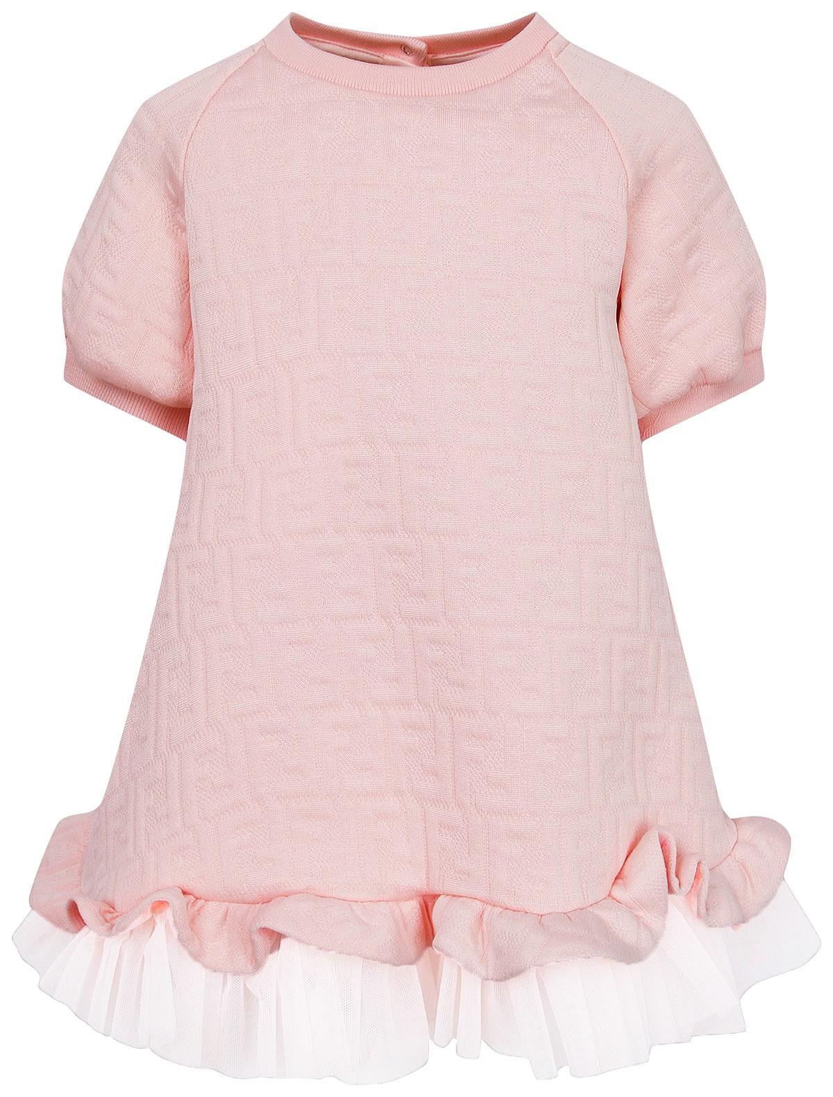Купить 2244195, Платье Fendi, розовый, Женский, 1054609081945