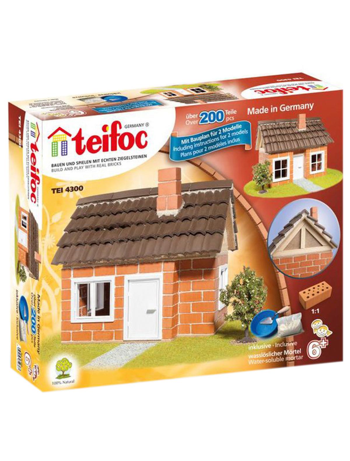 Игрушка TEIFOC 2146487 коричневого цвета