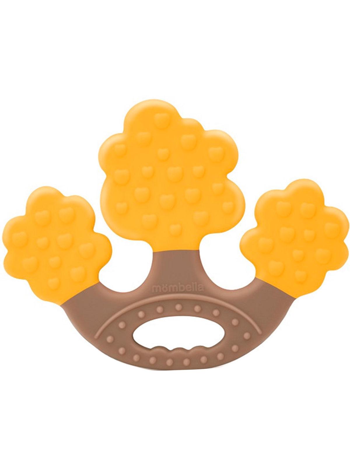 Купить 2217961, Прорезыватель для зубов Mombella, желтый, 5644520070348
