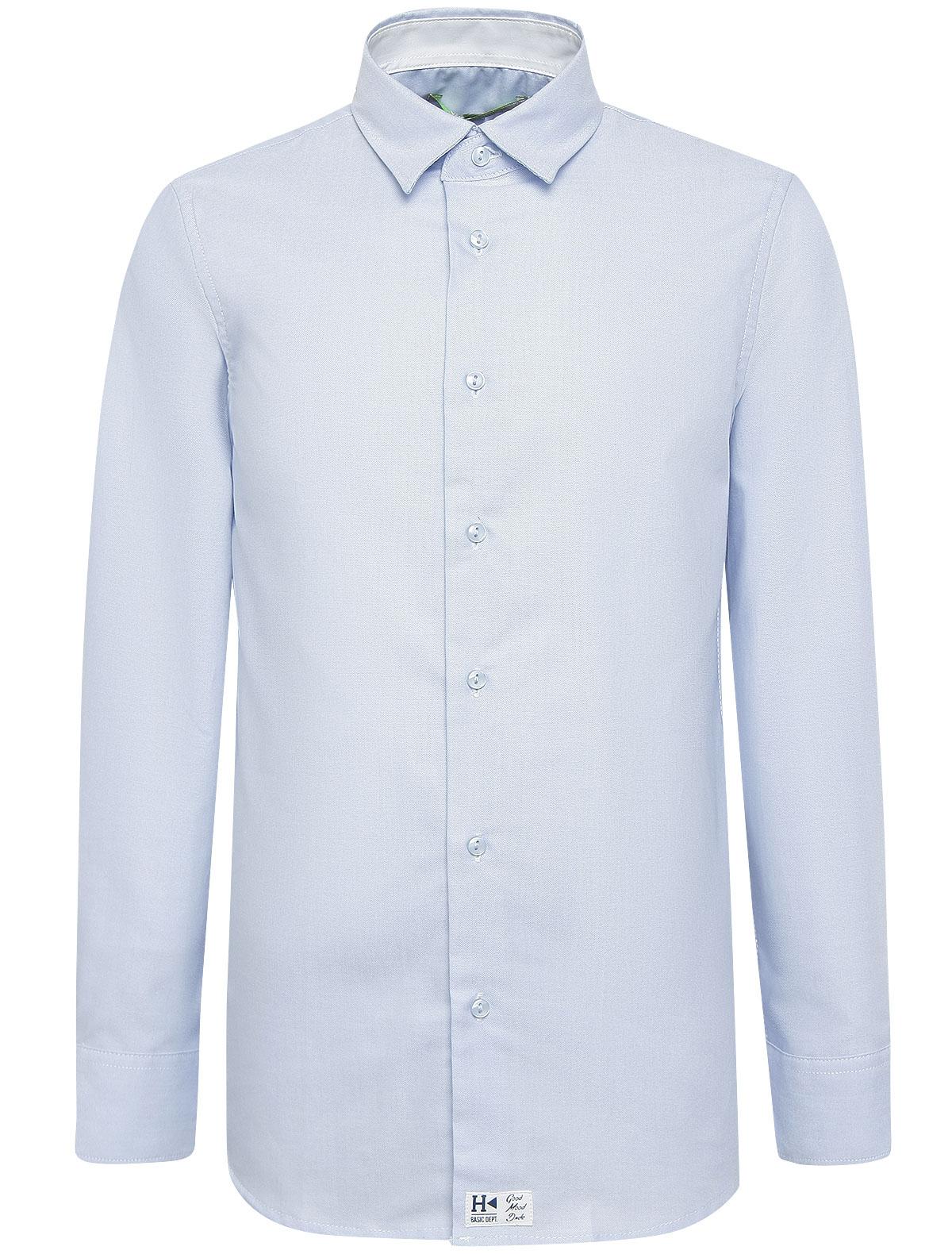 Купить 1863944, Рубашка SILVIAN HEACH Kids, голубой, Мужской, 1011519871233