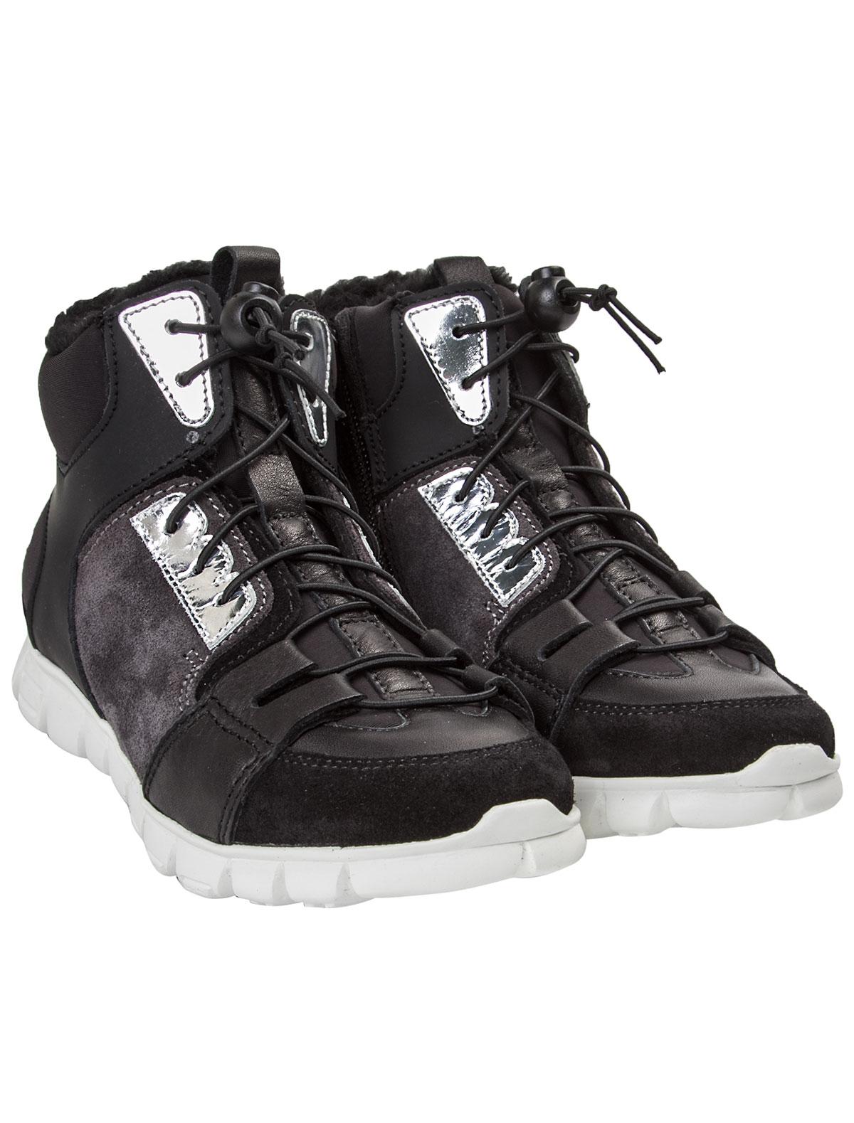 Купить 1844913, Ботинки Dsquared2, черный, Мужской, 2031119680140