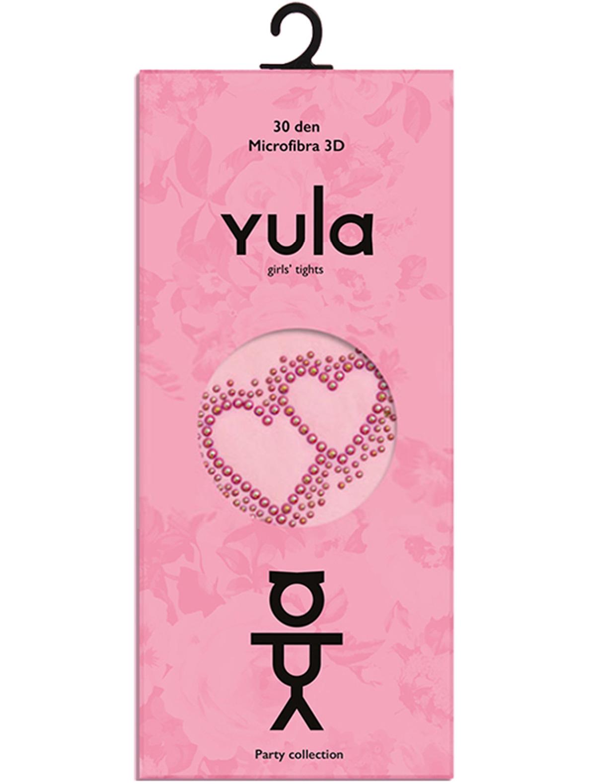 Купить 1898762, Колготки YULA, розовый, Женский, 1292609880513