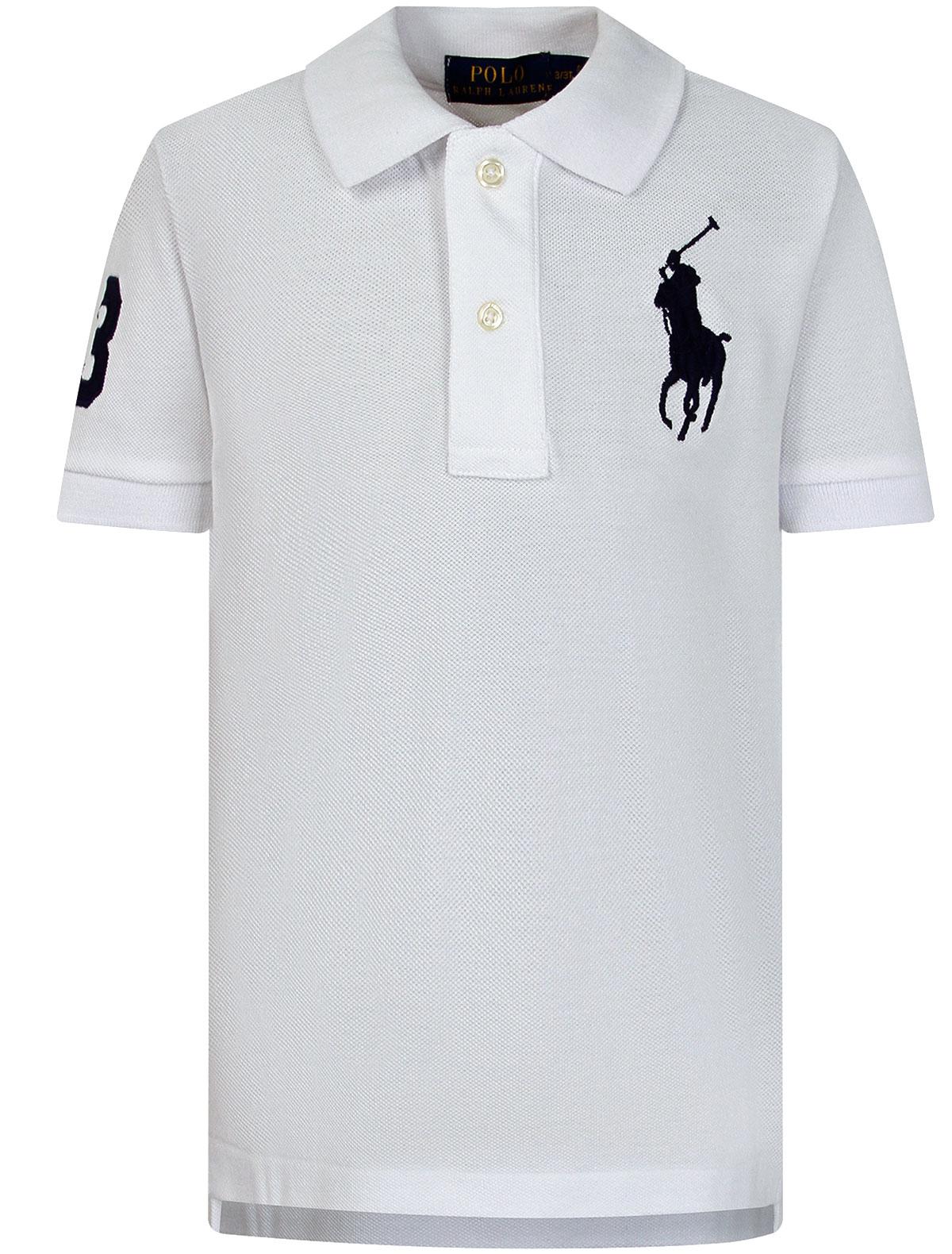 Купить 2263617, Поло Ralph Lauren, белый, Мужской, 1144519083853