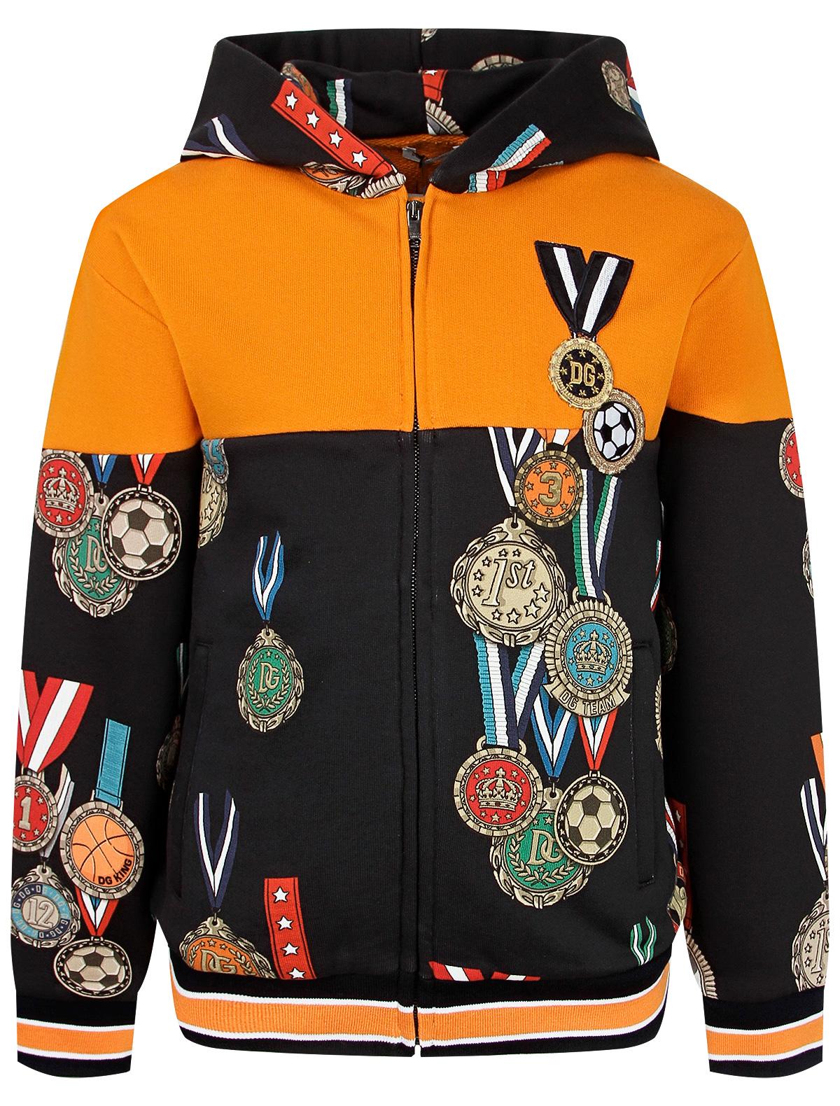 Купить 2264076, Толстовка Dolce & Gabbana, синий, Мужской, 0074519083816