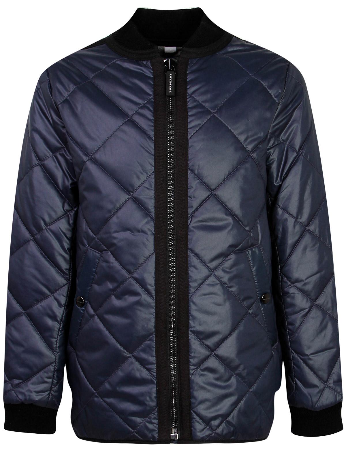 Купить 1873732, Куртка Burberry, синий, Женский, 1071409880806