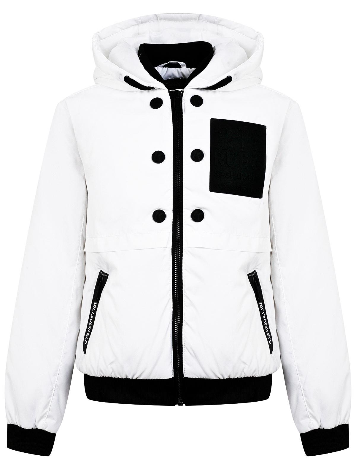 Купить 2311617, Куртка KARL LAGERFELD, белый, 1074529171571