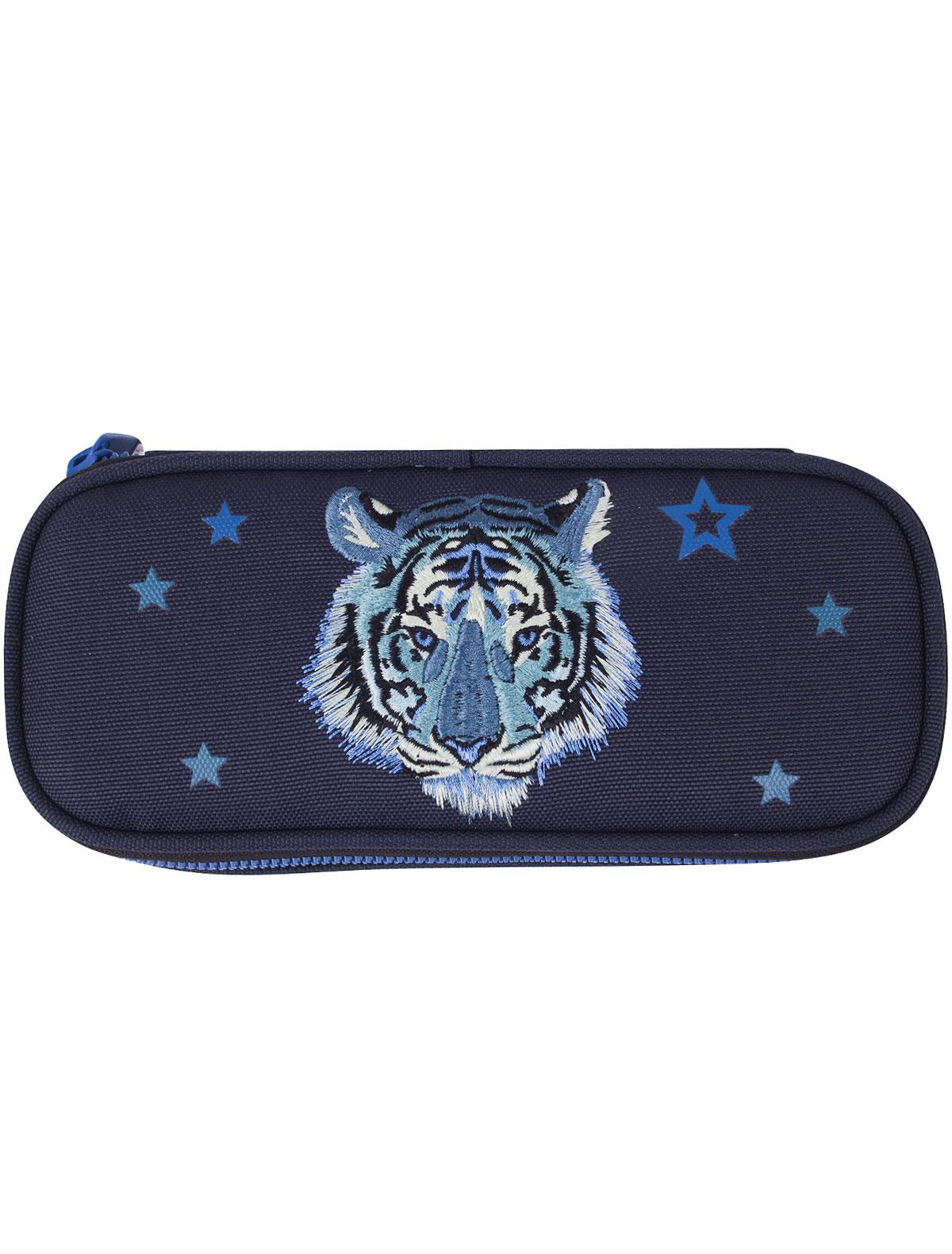 Купить 2222030, Пенал Jeune Premier, синий, Мужской, 1684518070060
