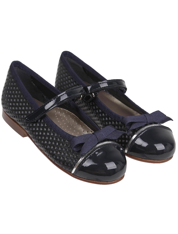 Туфли Eli синего цвета