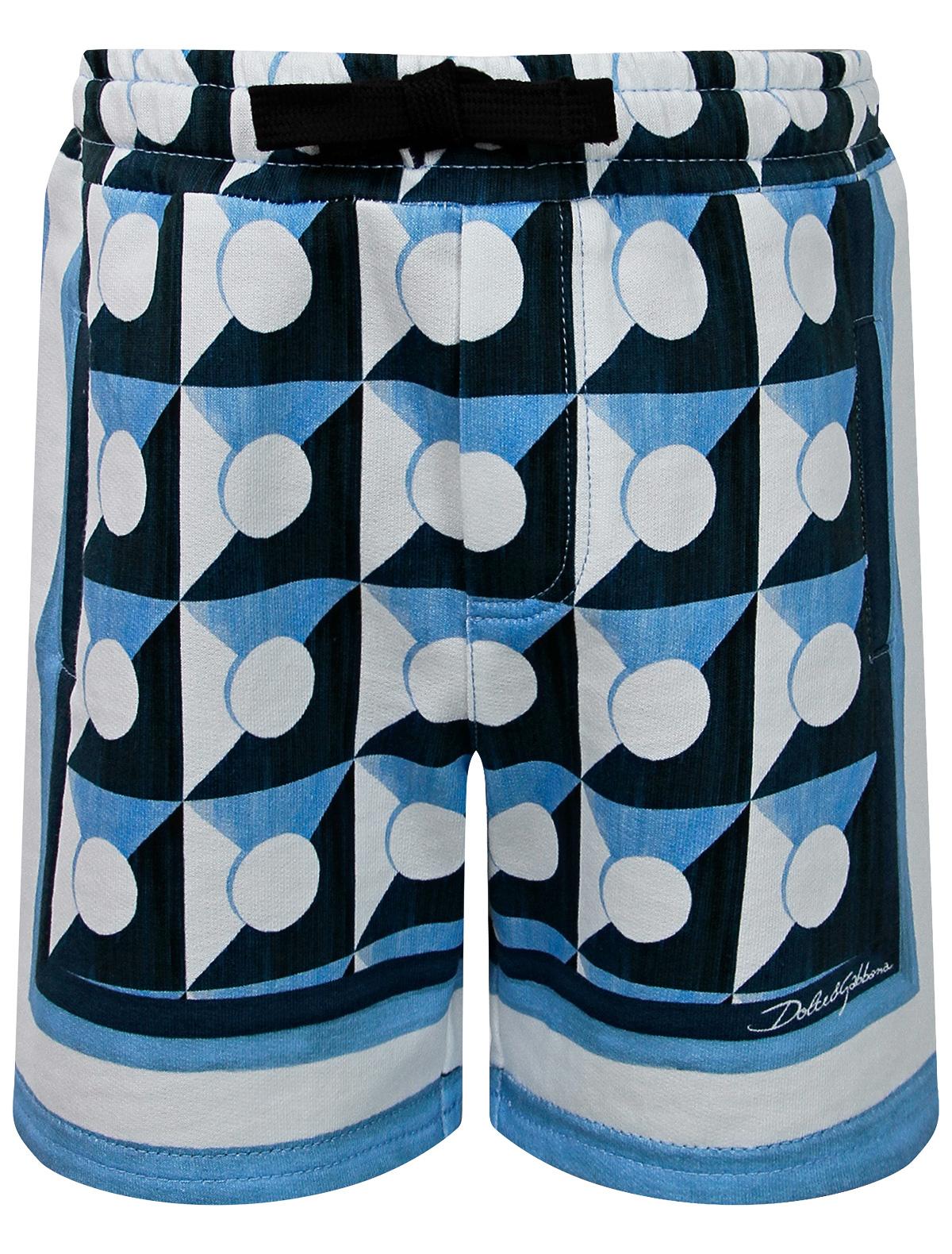 Купить 2296374, Шорты Dolce & Gabbana, синий, Мужской, 1414519177723