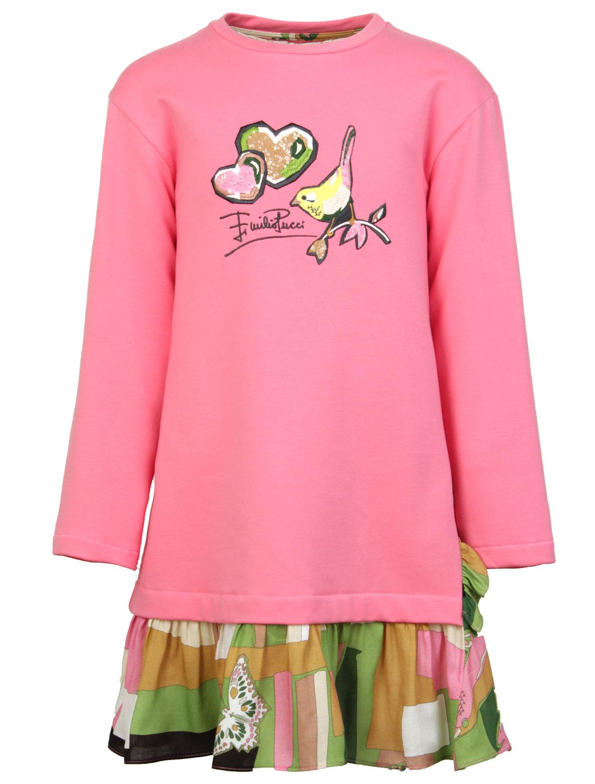Купить 1843834, Платье Emilio Pucci, розовый, Женский, 1052609881046